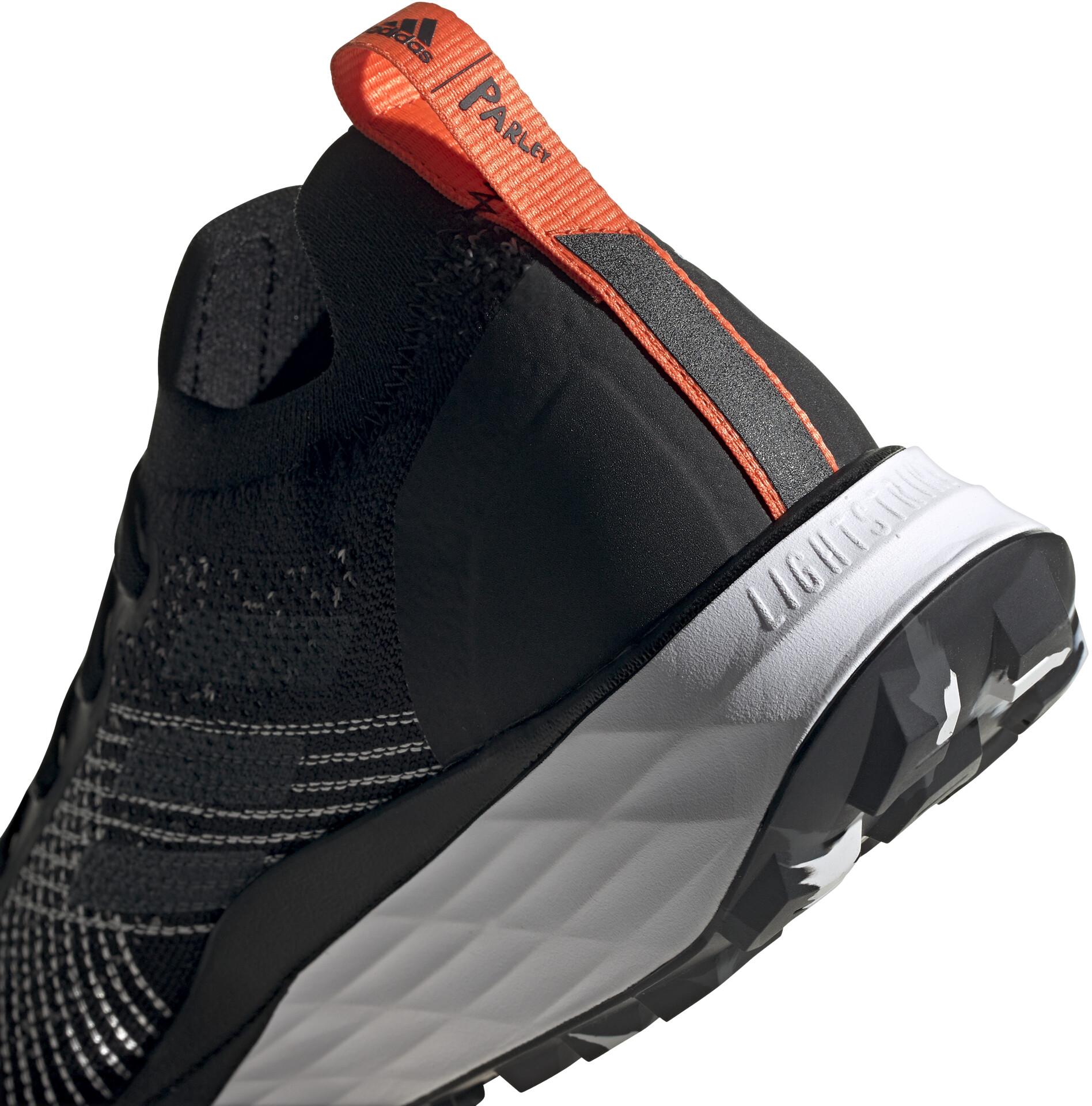 adidas TERREX Two Parley Scarpe Da Corsa Uomo, core black/grey three/true orange su Addnature eJ1Q5